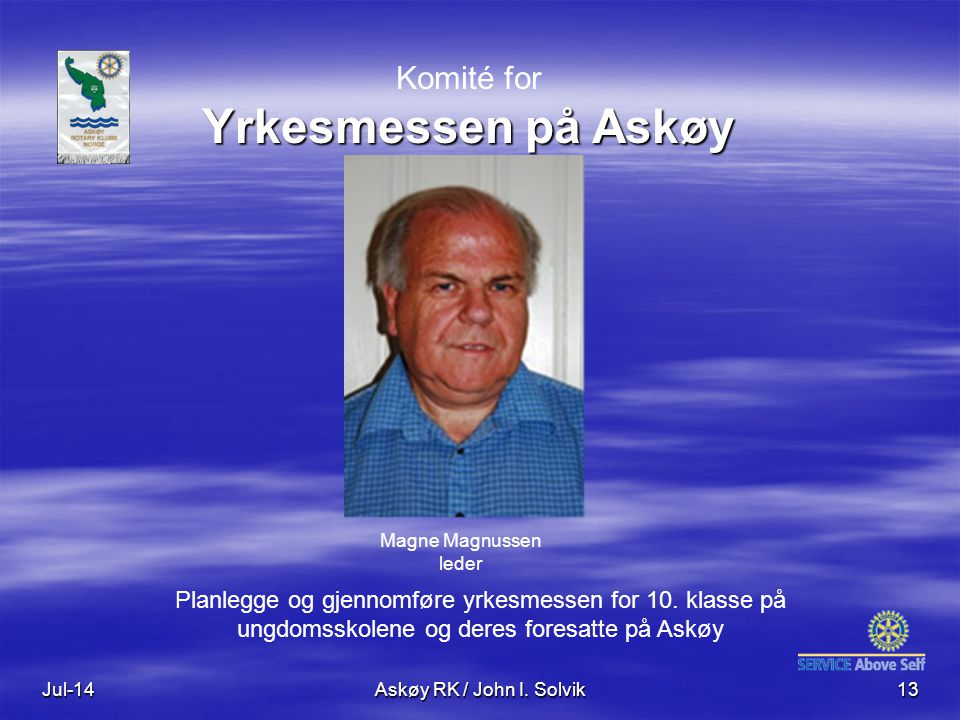 Komité for Yrkesmessen på Askøy