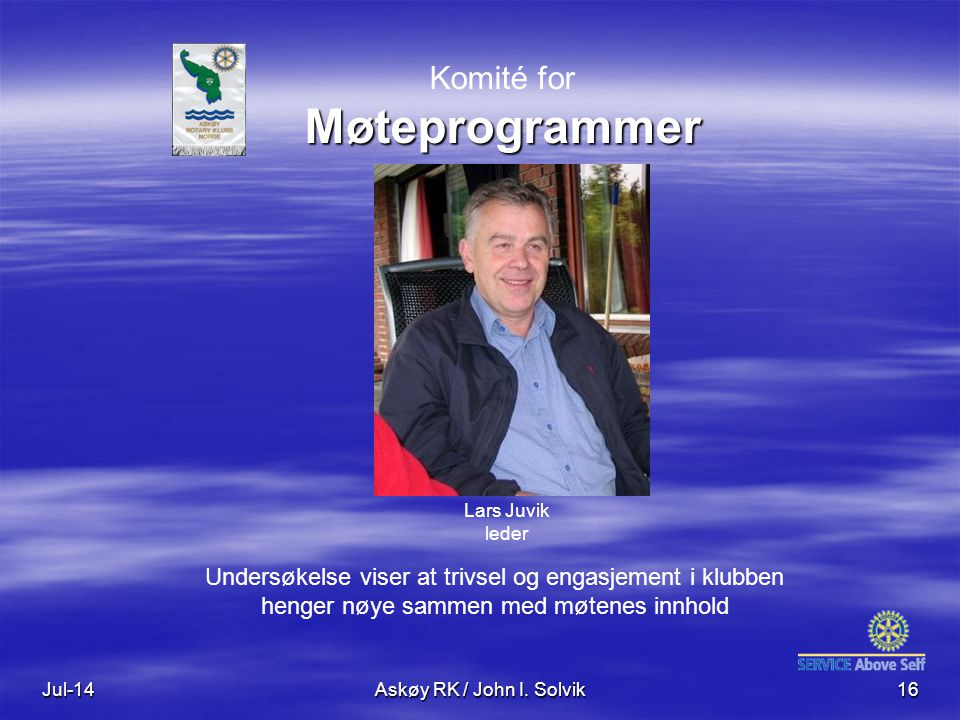 Komité for Møteprogrammer