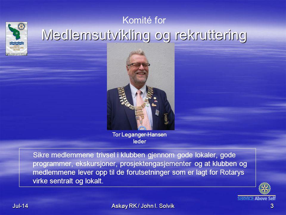Komité for Medlemsutvikling og rekruttering