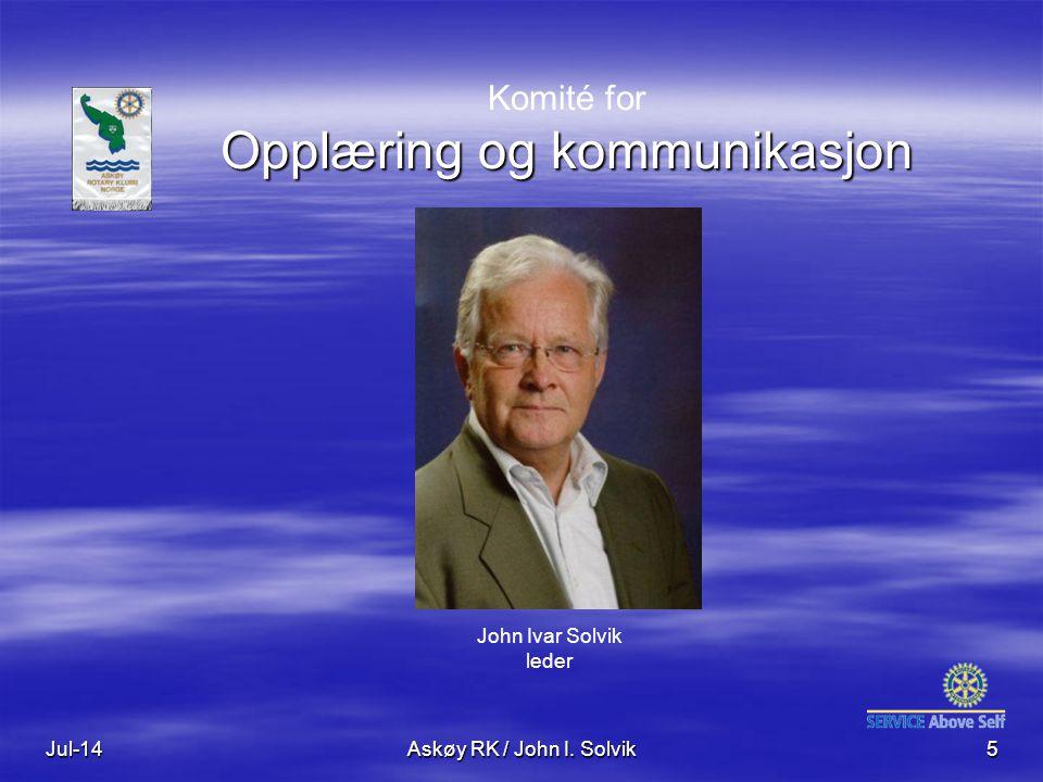 Komité for Opplæring og kommunikasjon