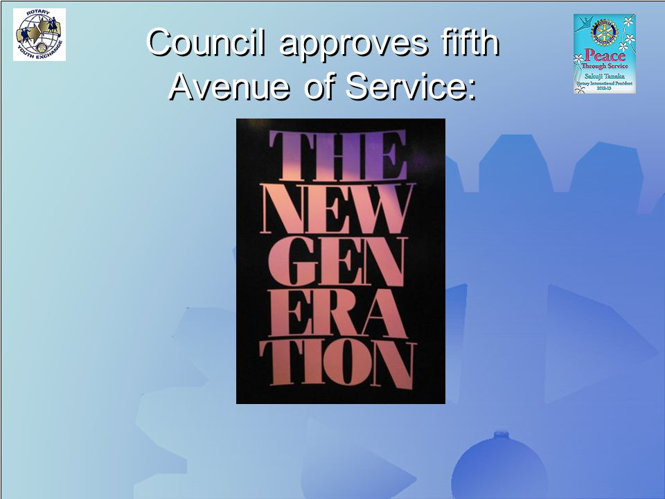 Council approves fifth Avenue of Service: