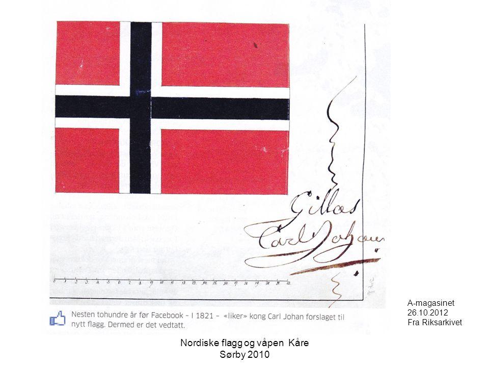 Nordiske flagg og våpen Kåre Sørby 2010