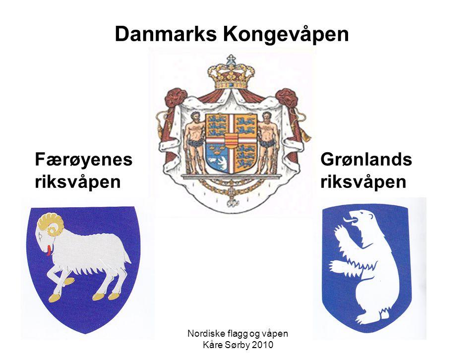 Nordiske flagg og våpen