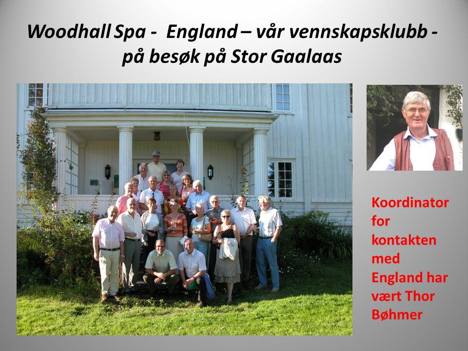 Woodhall Spa - England – vår vennskapsklubb - på besøk på Stor Gaalaas