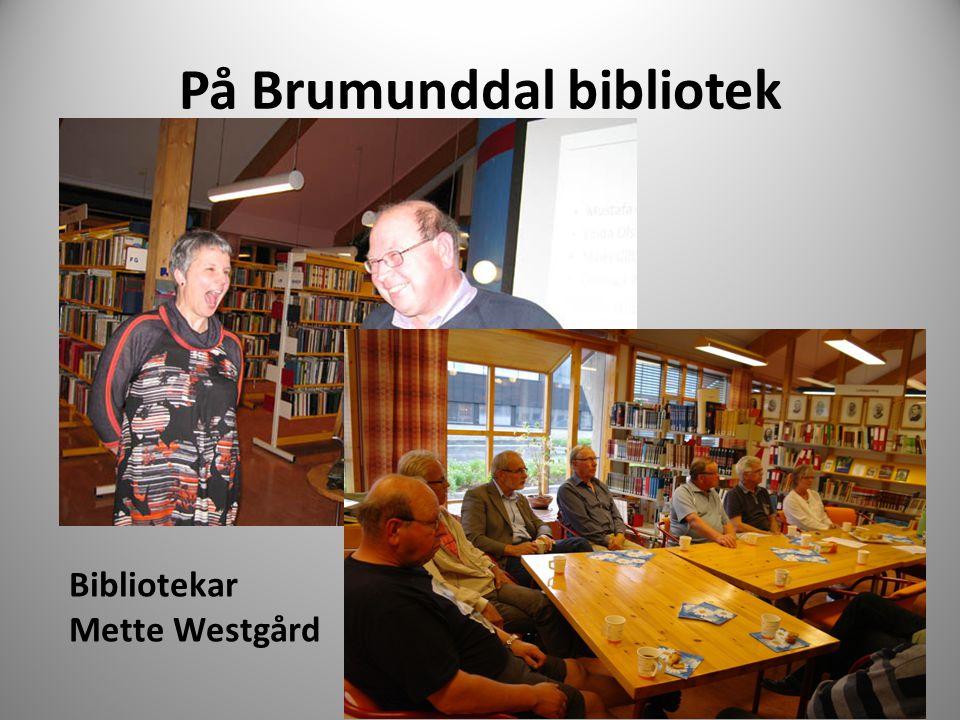 På Brumunddal bibliotek