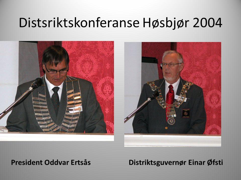 Distsriktskonferanse Høsbjør 2004