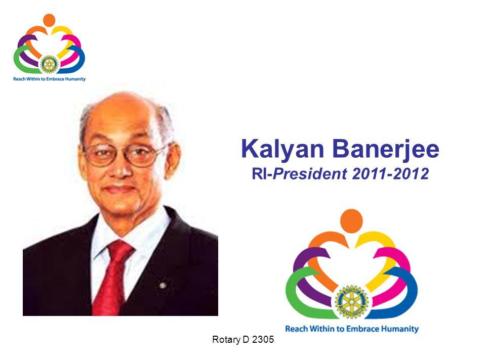 Kalyan Banerjee RI-President 2011-2012
