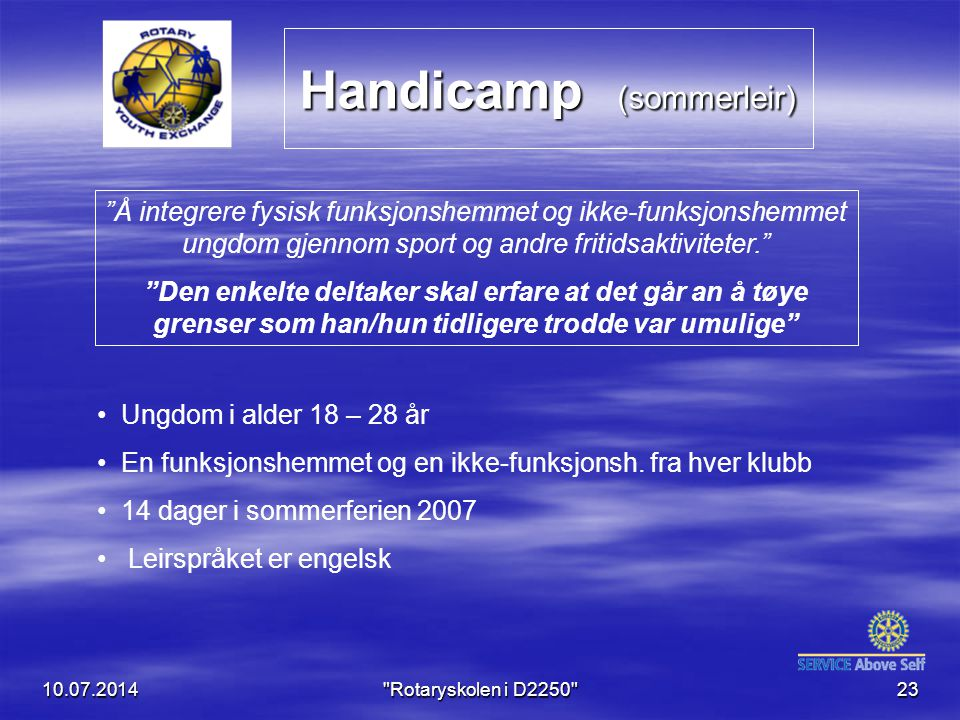 Handicamp (sommerleir)