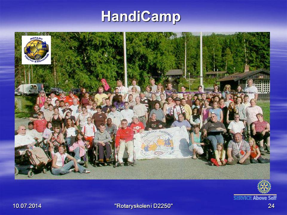 HandiCamp 04.04.2017 Rotaryskolen i D2250