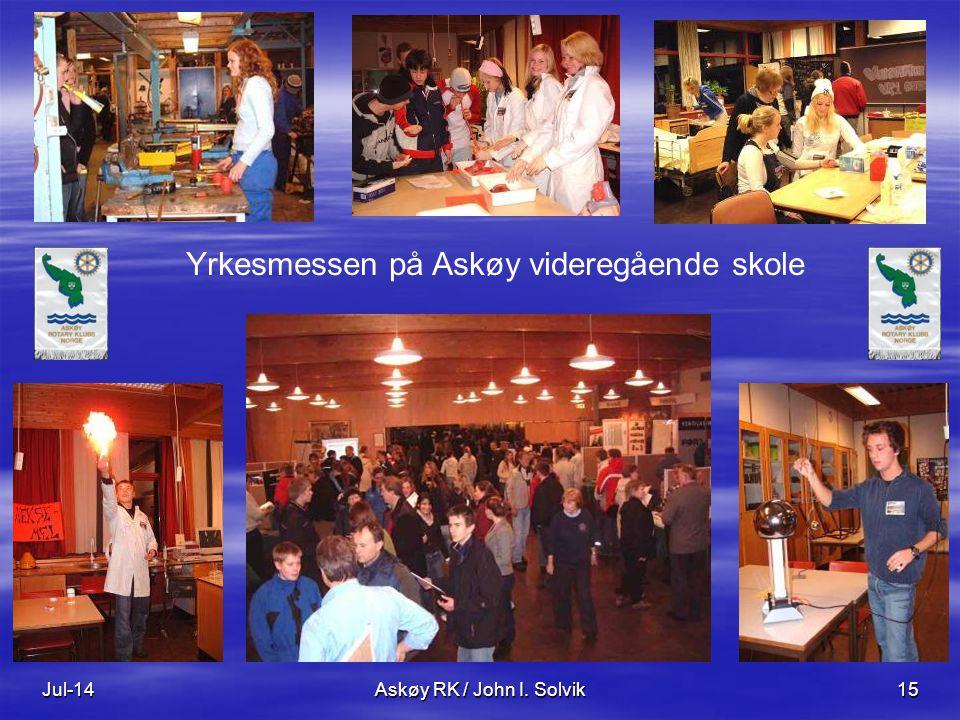 Yrkesmessen på Askøy videregående skole