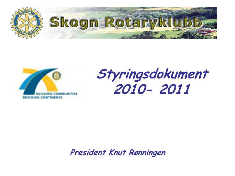 President Knut Rønningen