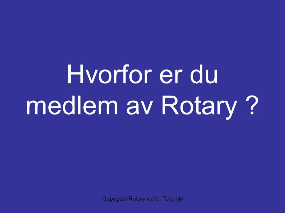 Hvorfor er du medlem av Rotary