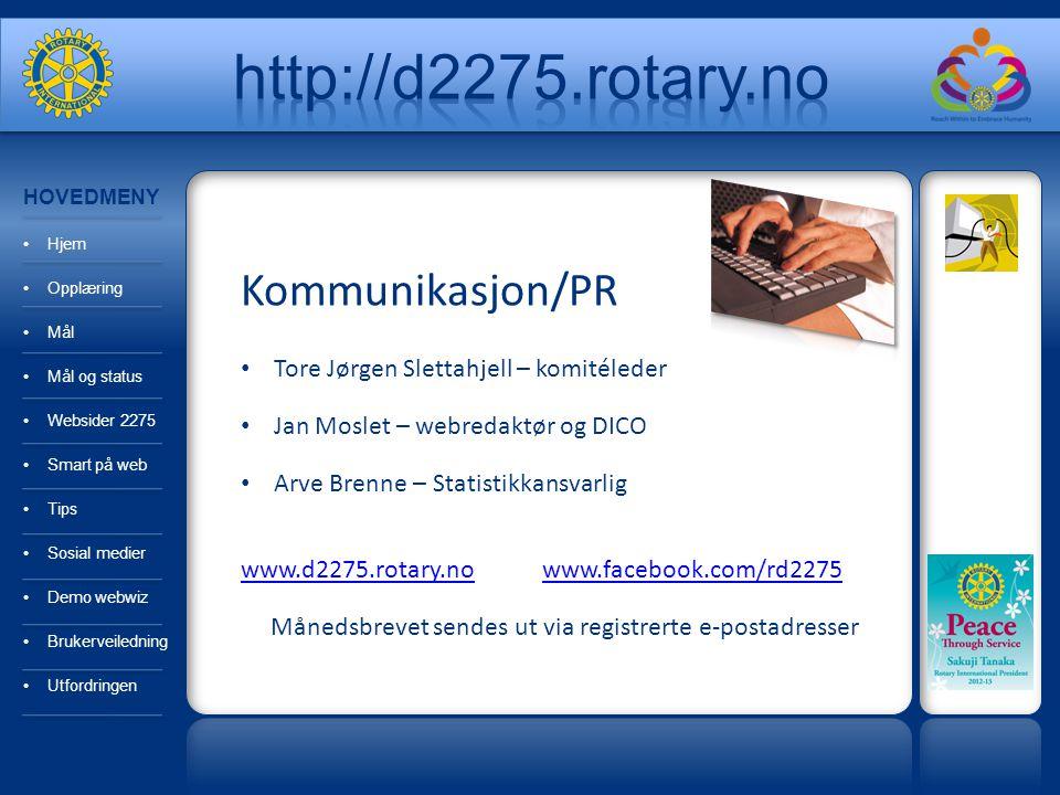 Månedsbrevet sendes ut via registrerte e-postadresser