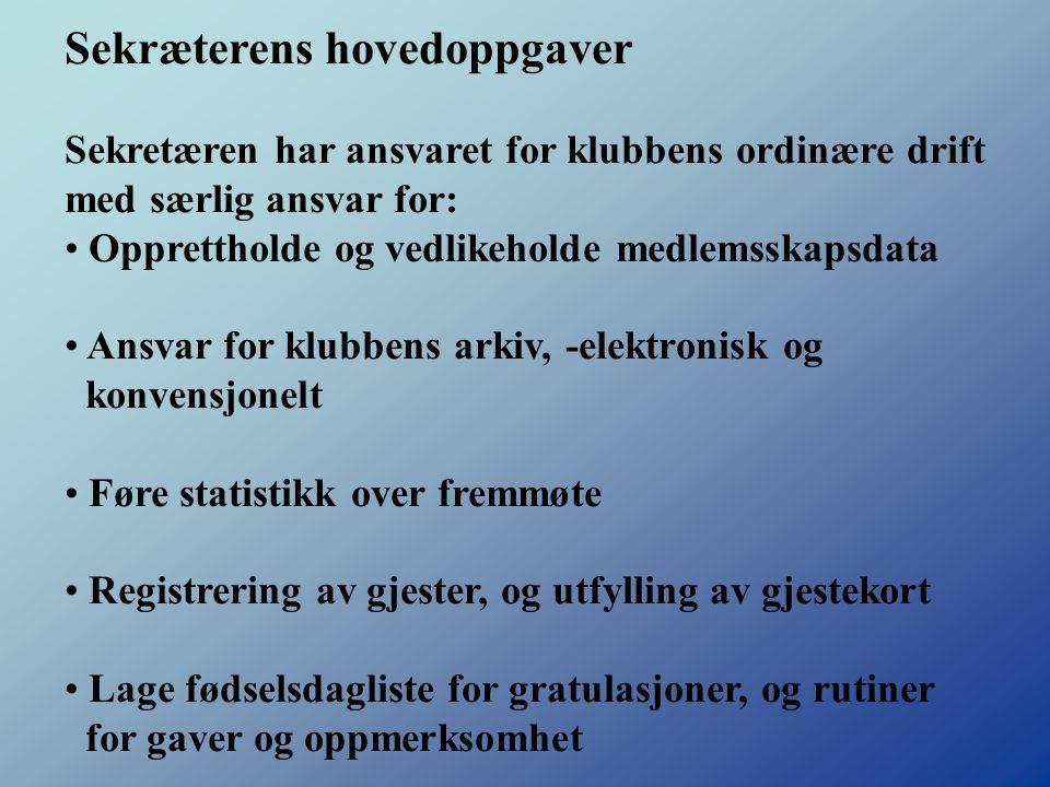 Distriktsekretær Magne Kjerkreit