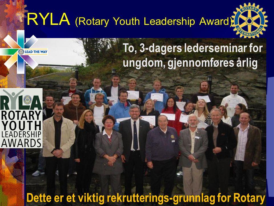 RYLA (Rotary Youth Leadership Award)