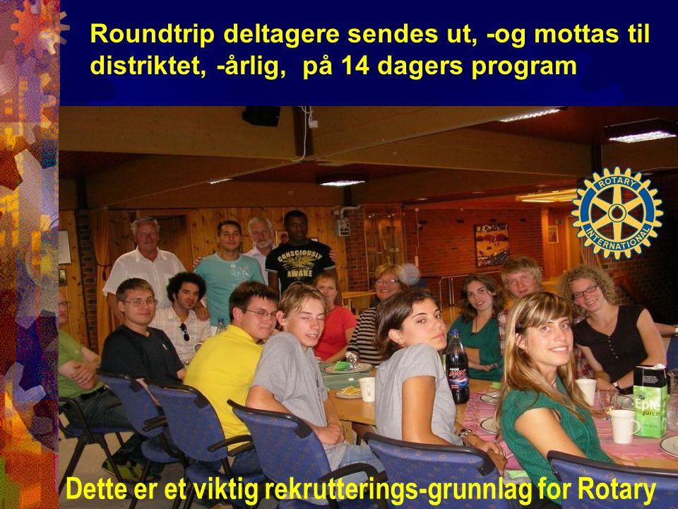 Dette er et viktig rekrutterings-grunnlag for Rotary