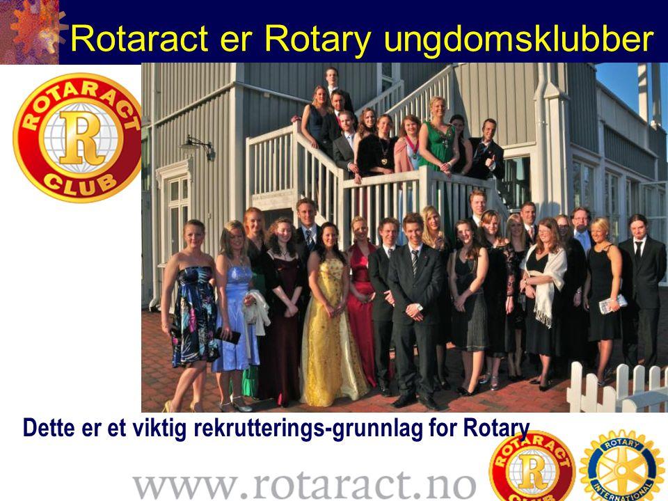 Rotaract er Rotary ungdomsklubber