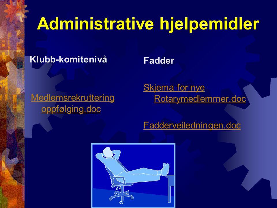 Administrative hjelpemidler