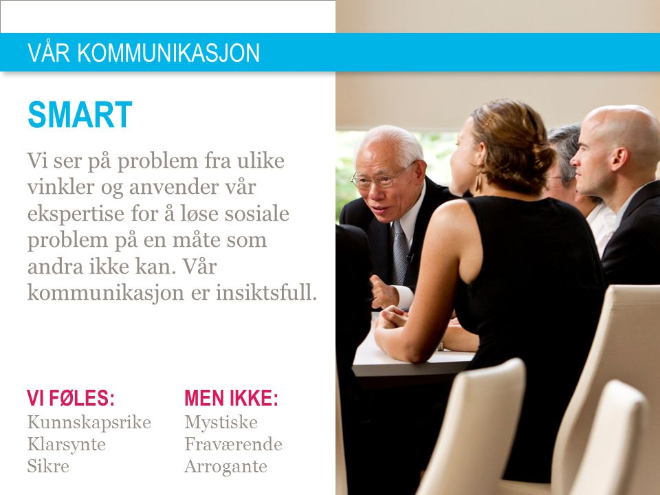SMART VÅR KOMMUNIKASJON