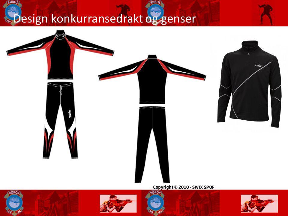 Design konkurransedrakt og genser