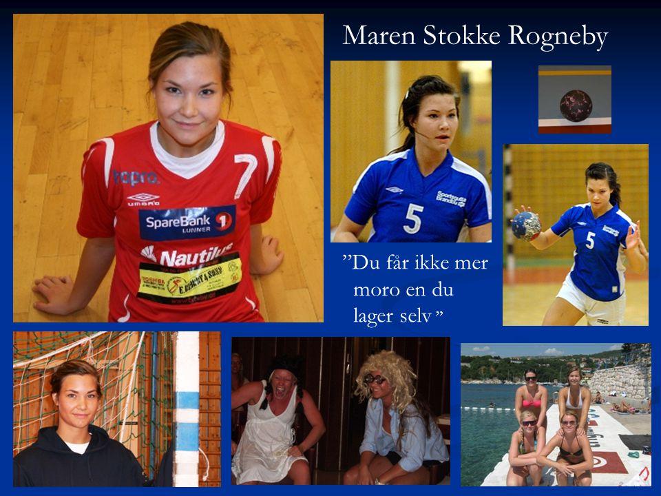 Maren Stokke Rogneby Du får ikke mer moro en du lager selv