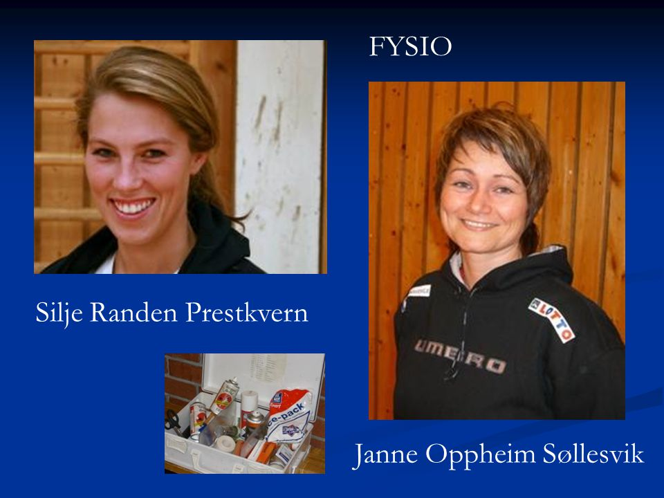 FYSIO Silje Randen Prestkvern Janne Oppheim Søllesvik