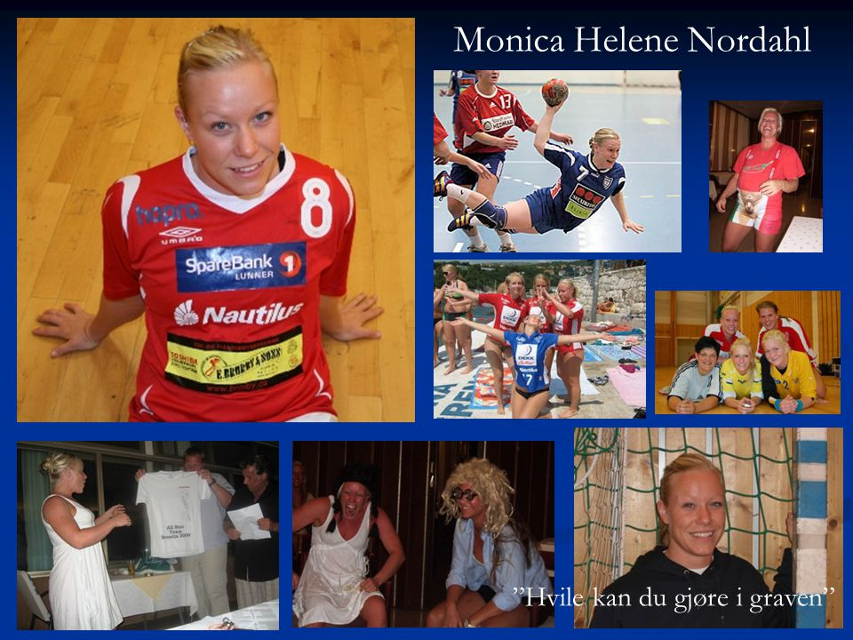Monica Helene Nordahl Hvile kan du gjøre i graven