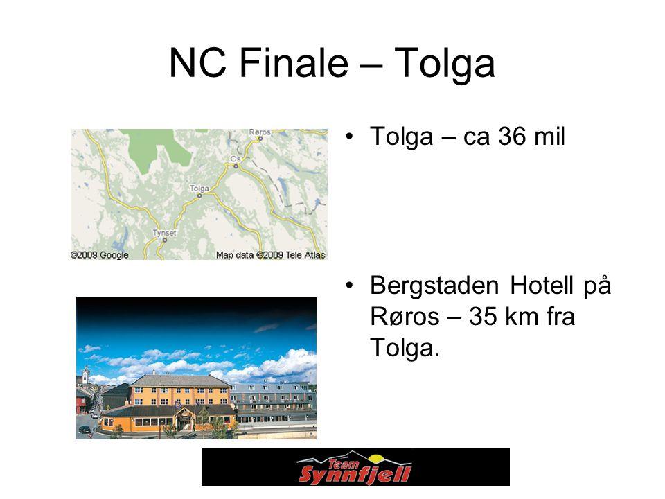 NC Finale – Tolga Tolga – ca 36 mil