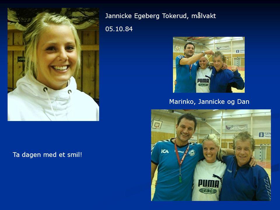 Jannicke Egeberg Tokerud, målvakt