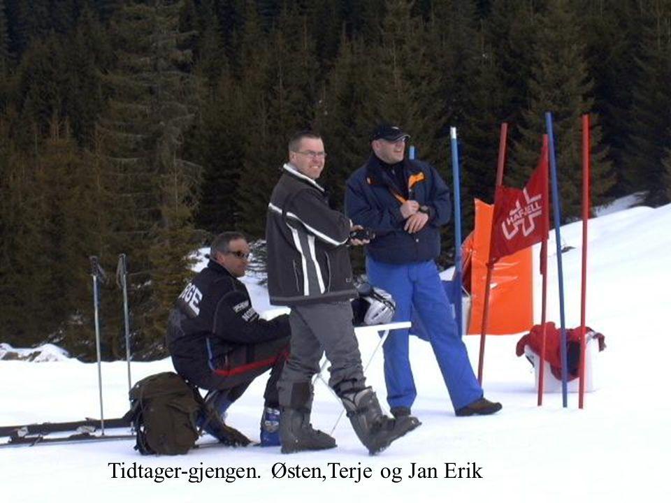 Tidtager-gjengen. Østen,Terje og Jan Erik