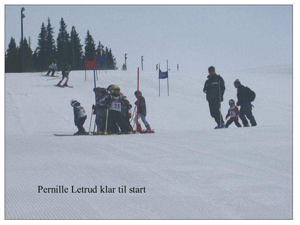 Pernille Letrud klar til start