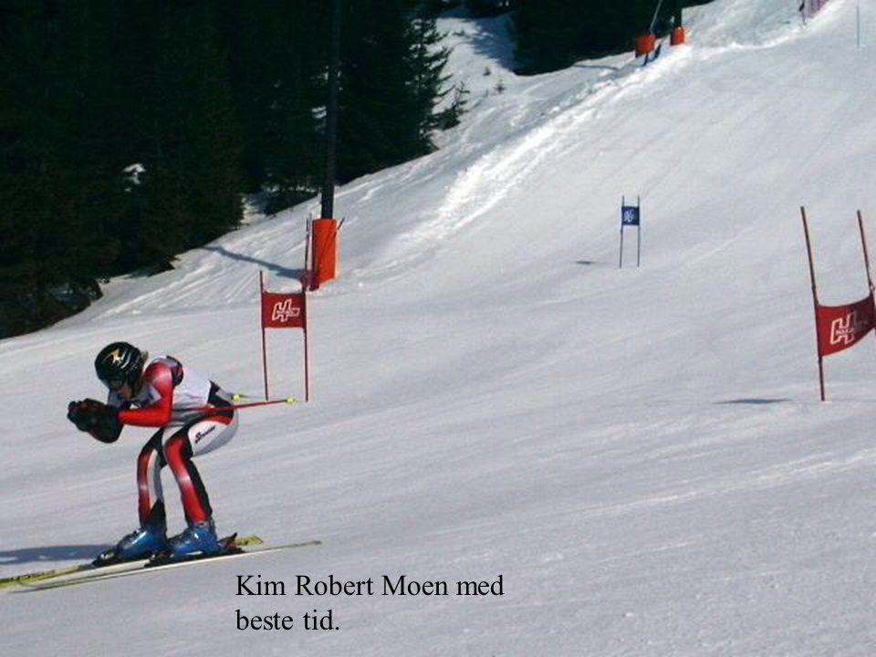 Kim Robert Moen med beste tid.