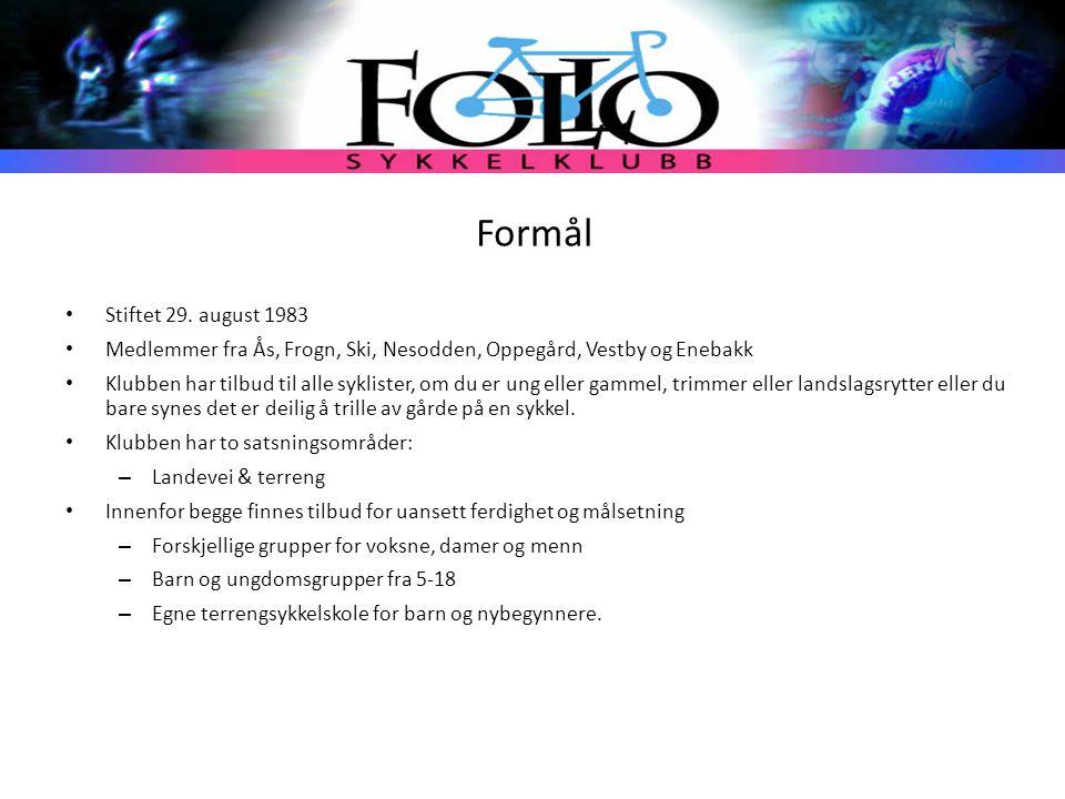 Formål Stiftet 29. august 1983. Medlemmer fra Ås, Frogn, Ski, Nesodden, Oppegård, Vestby og Enebakk.