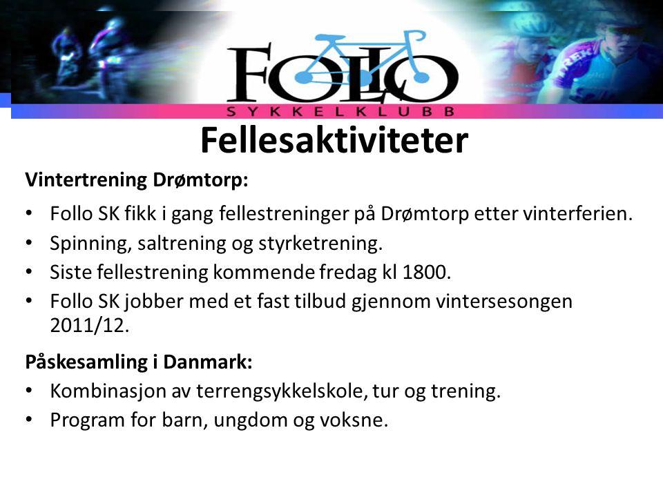 Fellesaktiviteter Vintertrening Drømtorp: