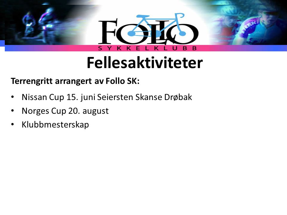 Fellesaktiviteter Terrengritt arrangert av Follo SK: