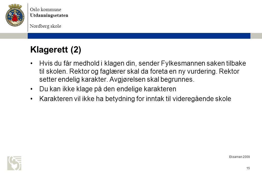 Klagerett (2)