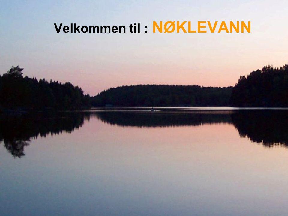 Velkommen til : NØKLEVANN