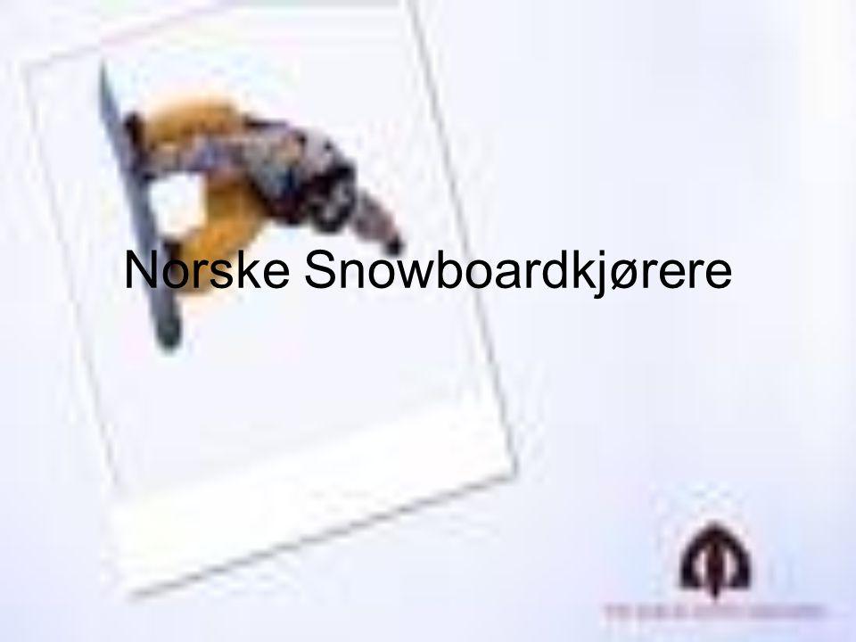 Norske Snowboardkjørere
