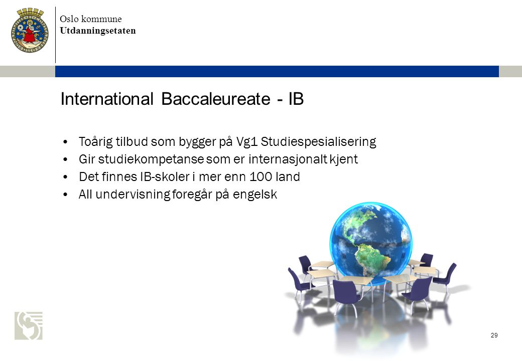 International Baccaleureate - IB
