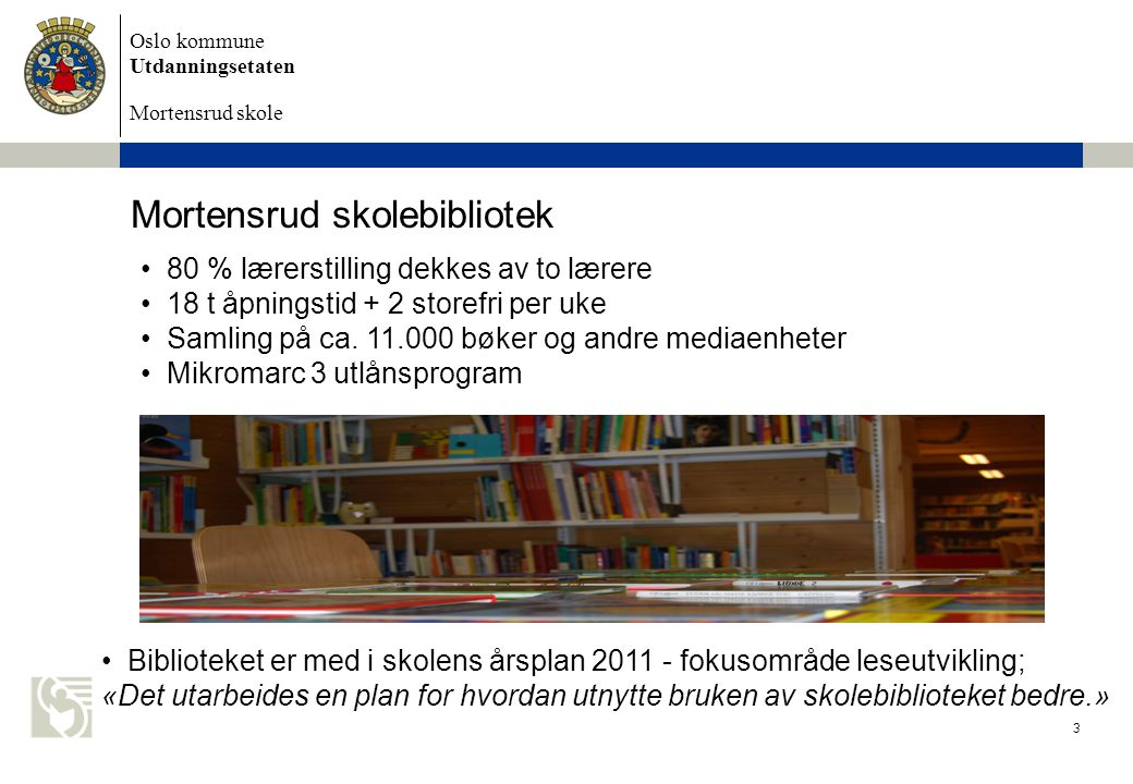 Mortensrud skolebibliotek