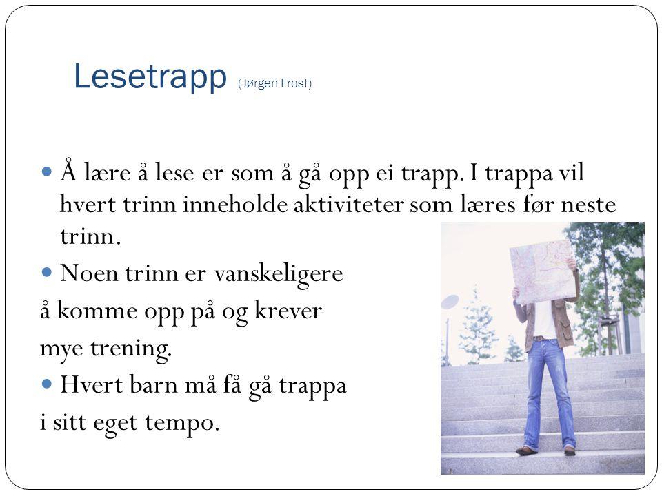Lesetrapp (Jørgen Frost)