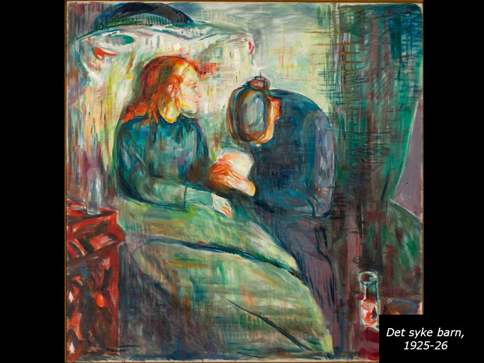 Det syke barn, 1925-26