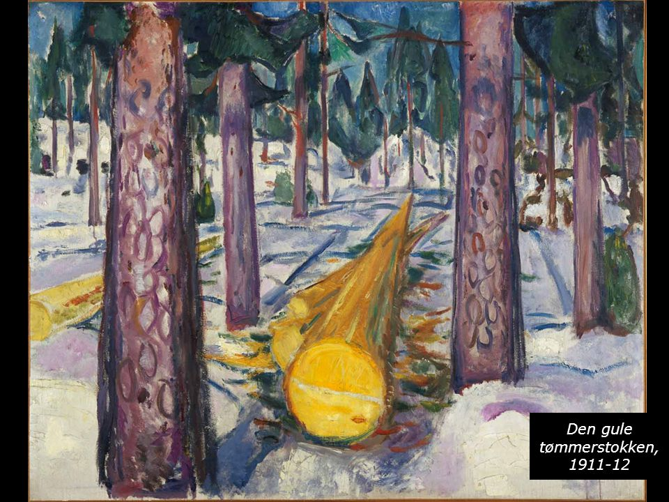 Den gule tømmerstokken, 1911-12