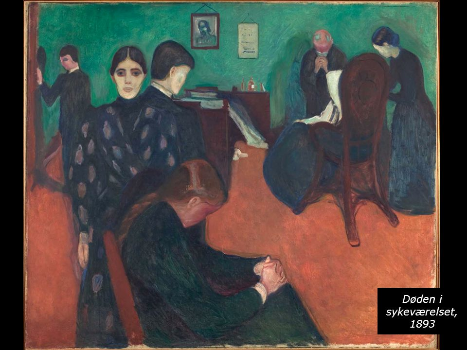 Døden i sykeværelset, 1893