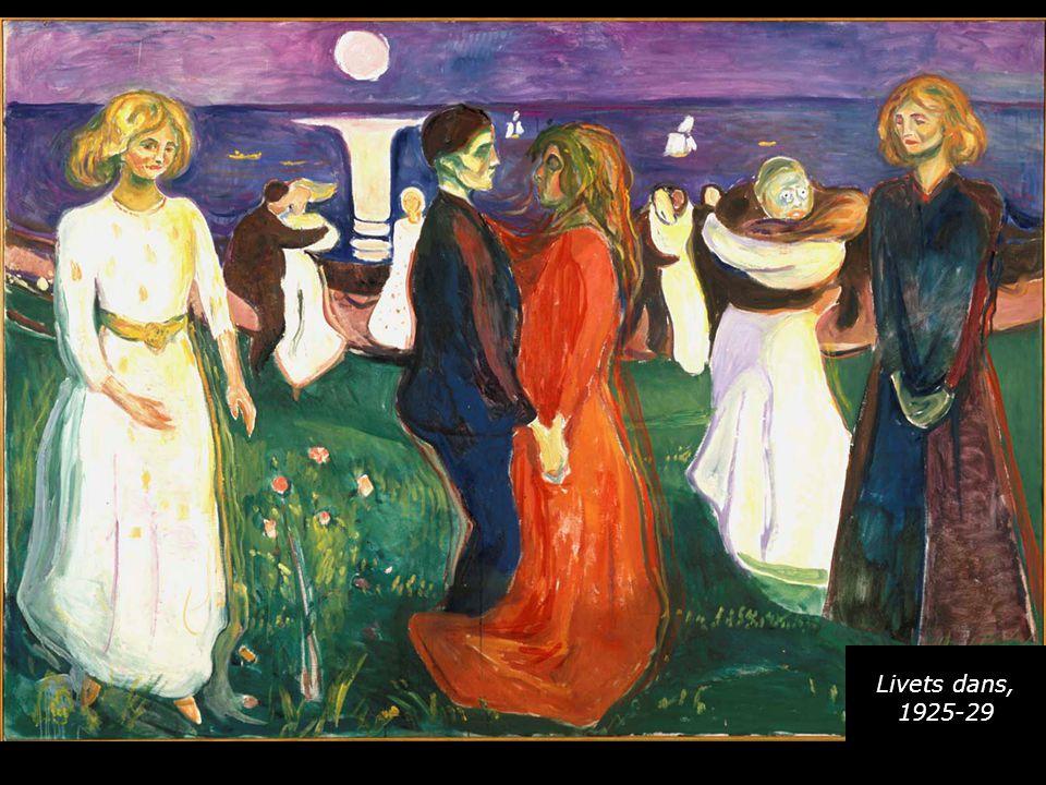Livets dans, 1925-29