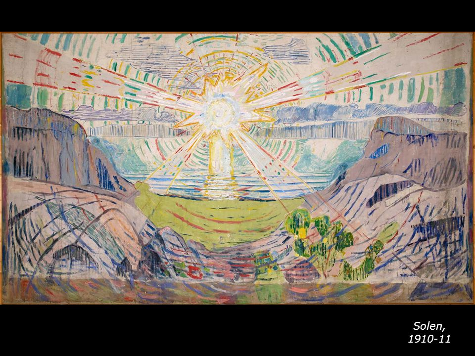 Solen, 1910-11