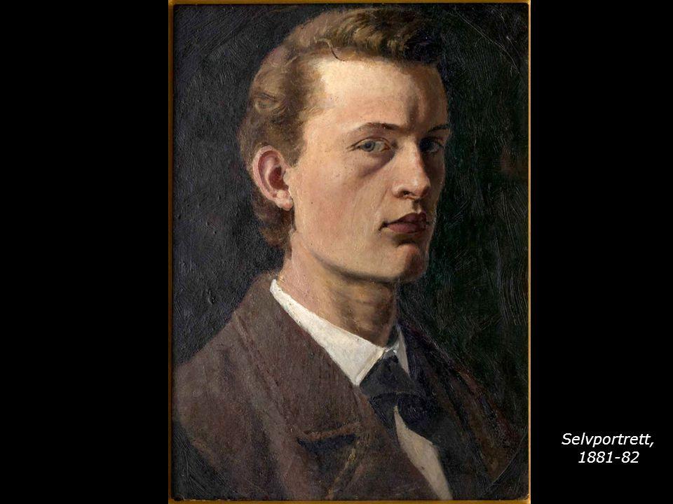 Selvportrett, 1881-82