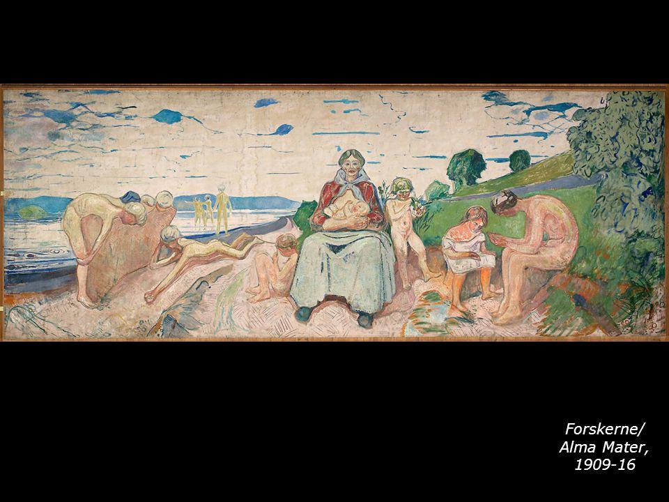 Forskerne/ Alma Mater, 1909-16