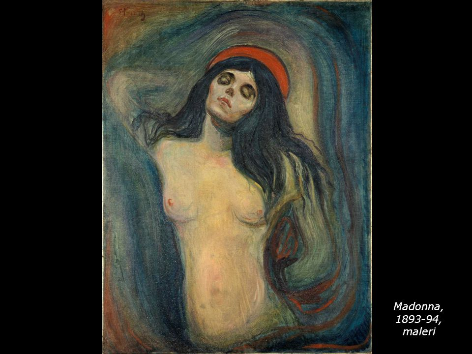 Madonna, 1893-94, maleri