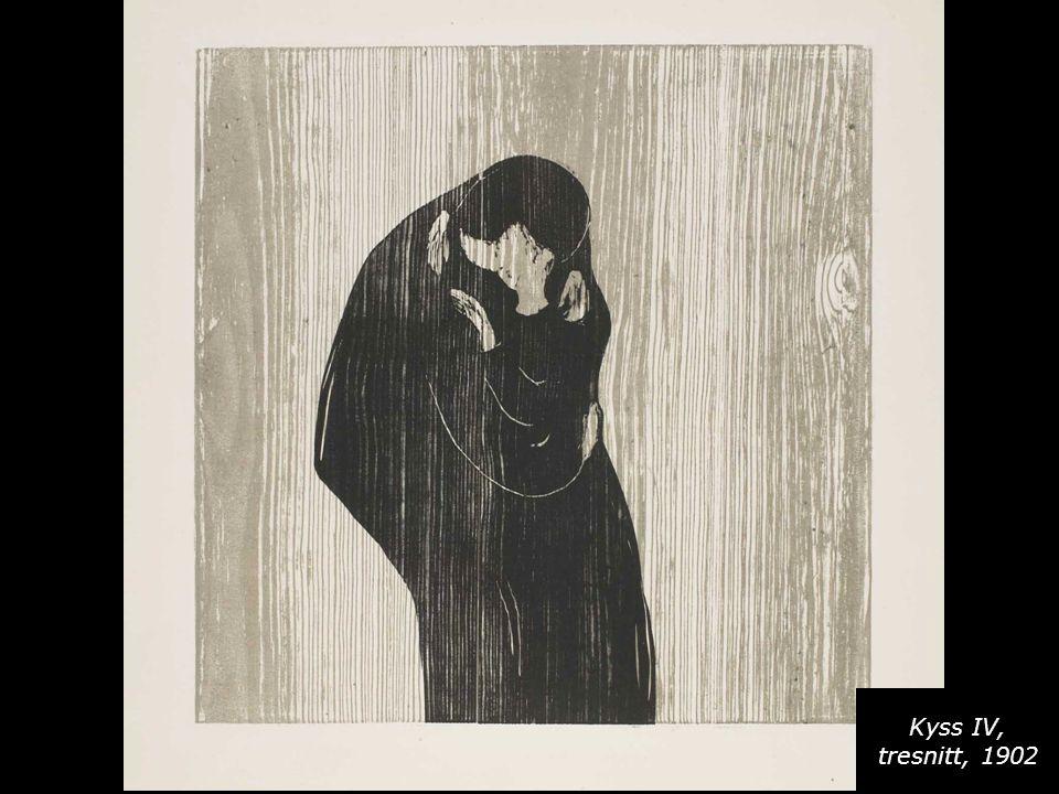 Kyss IV, tresnitt, 1902